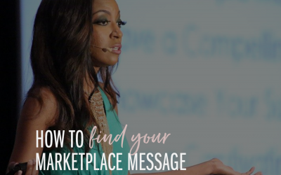 How to Find Your Marketplace Message