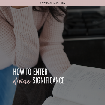 How To Enter Divine Significance